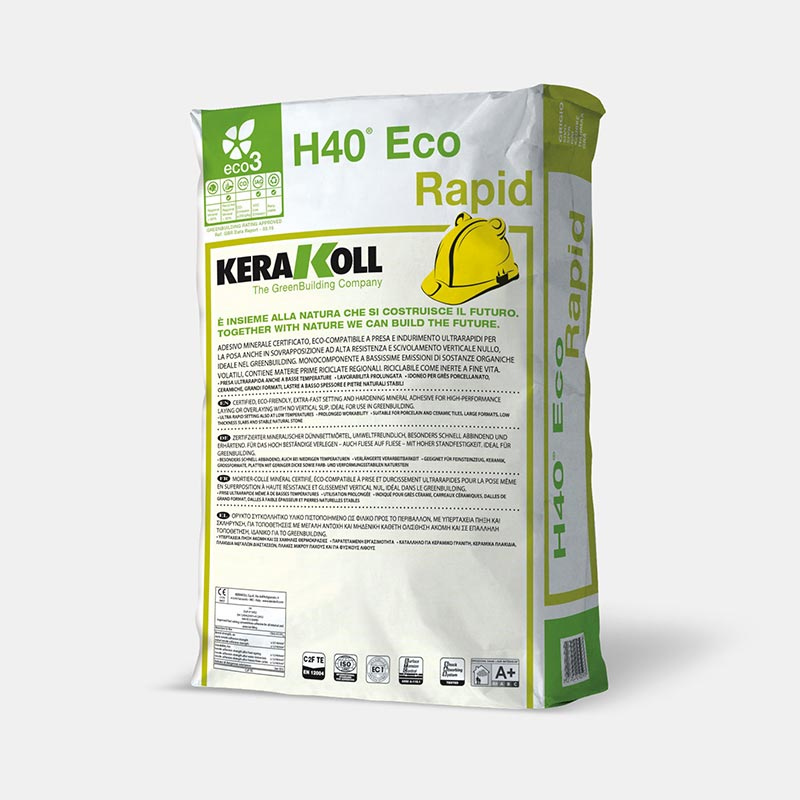 Κόλλα πλακιδίων H40® Eco Rapid