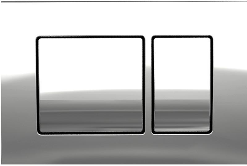 Πλακέτα Key B100 chrome